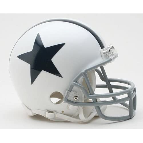 e31227a4878 Dallas Cowboys White Throwback Thanksgiving Day Riddell Mini Football  Helmet - New in Riddell Box