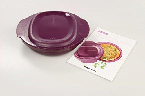 TUPPERWARE Mikrowelle Healthy Delight 775ml großer Omelett-Meister + Rezeptblatt 26464