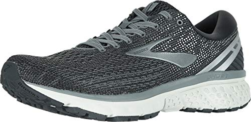 Brooks Men's Ghost 11 Ebony/Grey/Silver 9.5 EE US