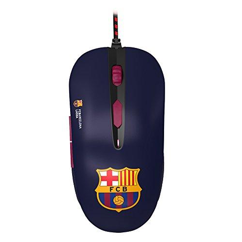 Mars Gaming MMBC - PC Maus, offizielle Lizenz FC Barcelona Lassa und Euroleague