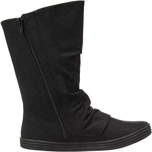 Blowfish Damen Rammish High Slouch Boots, Black Texas PU 020 Schwarz, 40 EU