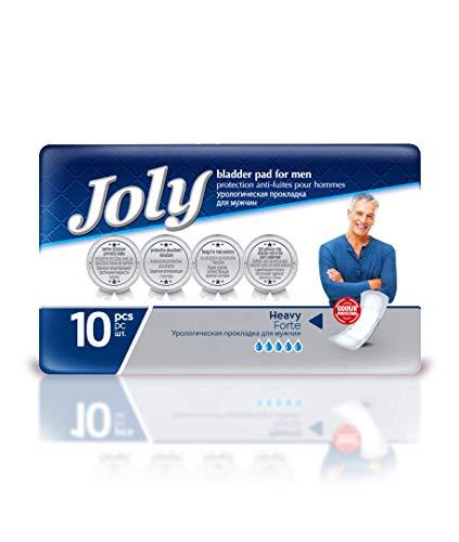 Abelsmann - Joly Inkontinenzeinlagen für Männer - 10 Stück - Gegen Blasenschwäche und Inkontinenz
