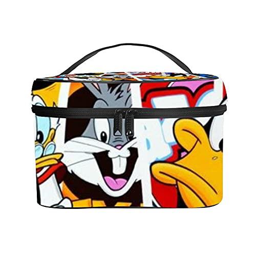 ルーニーチューンズ バグバニー 化粧バッグ コスメボックス メイクボックス おしゃれ PANMAX 大容量 収納ケース レザー 人気 旅行 小物入れ