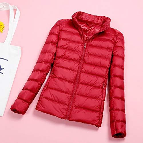 YRFHQB Plus Size donsjack vrouwen winter merk jas lente herfst outwear korte parka ultralicht warme mantel 5XL 6XL 7XL