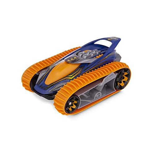 Nikko - VelociTrax - Steuerbares Auto - Ferngesteuertes Auto 360 Grad Drehungen - RC Auto mit Batterie - Raupenfahrzeug für Kinder - 18 x 29 x 13 cm - Orange