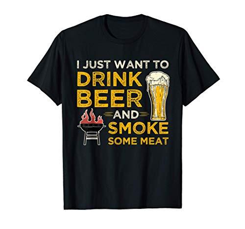 Grillen & Bier für Grillmeister & BBQ Griller am Grill T-Shirt