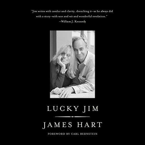Lucky Jim audiobook cover art