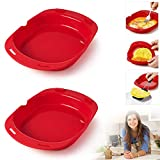 Best Omelette Makers - 2 PCS Silicone Omelette Maker Microwave Oven Non Review