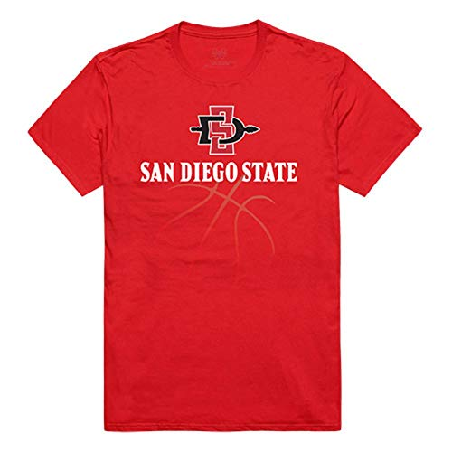 SDSU San Diego State University Aztecs NCAA Basketball Tee T-Shirt X-Large