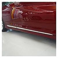 yhfhaoop 車のアクセサリーのスタイリングの外側のドアのボディモールディングカバーのカバートリム2014 hnyhf