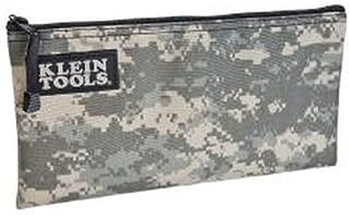 Zipper Bag, Camo Bag is 12.5 x 7-Inch, Durable Cordura Fabric Camouflage Design Klein Tools 5139C