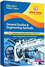 Made Easy ESE 2017 Prelims Paper I General Studies And Engineering Aptitude: (Standards and Quality Practices in Production)