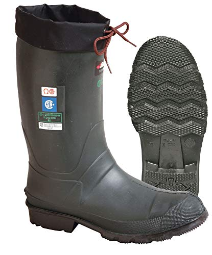 Best Buy! Ins Boots, Sz 12, 13 H, Green, STL, PR