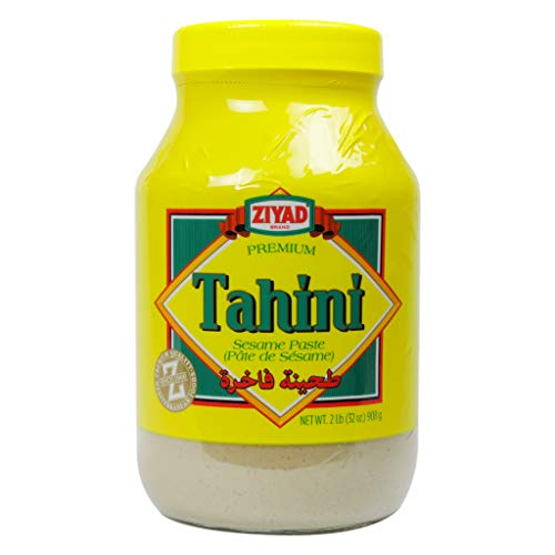 Ziyad Brand Tahini Sesame Paste, 100% All Natural, No Additives, No Preservatives, Perfect for Pita Bread, Meat, Vegetables and More! 32oz