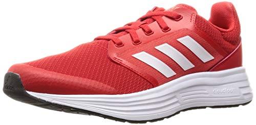 adidas Galaxy 5, Zapatillas de Running Hombre, Rojint/FTWBLA/Rojsol, 43 1/3 EU