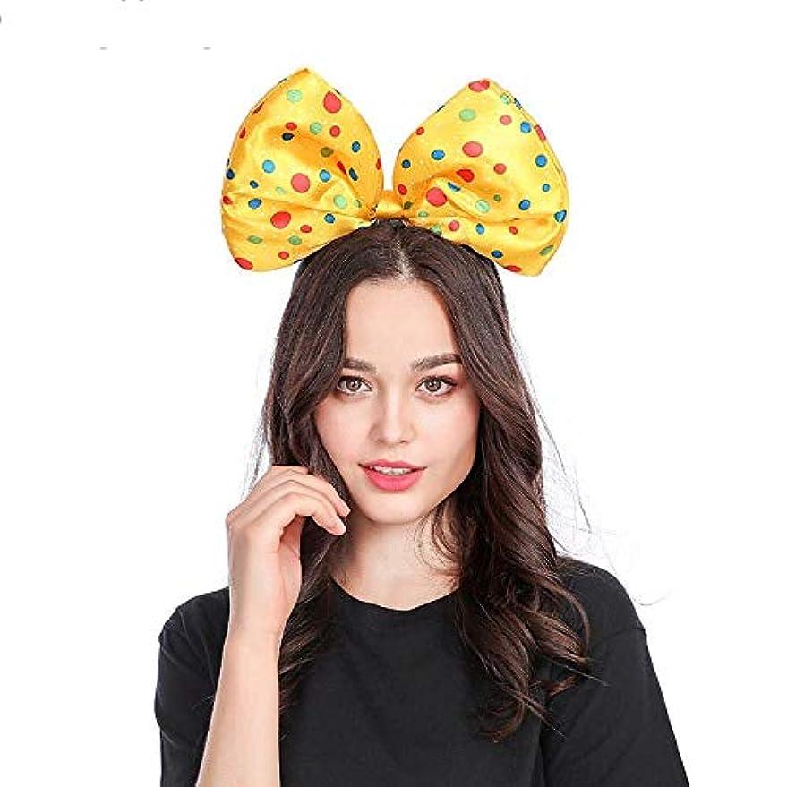投獄公平集計LYgMV 誇張されたシンプルな2色の蝶ネクタイバックルクリスマスハロウィーンパフォーマンスアクセサリー