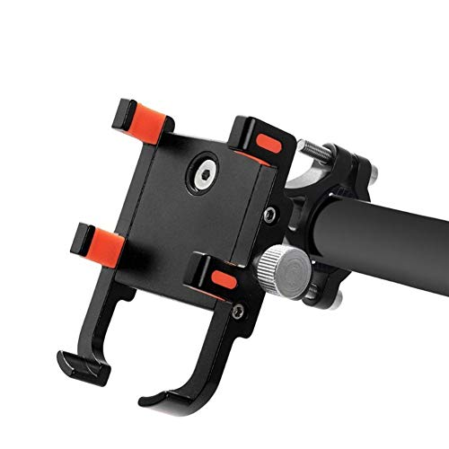JUDVDX Adecuado for 3.5 a 6.8 de Aluminio Universal de 360 Bicicleta sostenedor Giratorio del Soporte for teléfono móvil Bicicleta Manillar de la Motocicleta Soporte for teléfono móvil