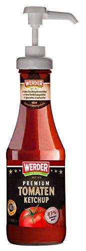 WERDER Dosierpumpe für Ketchupflasche - Saucen Spender