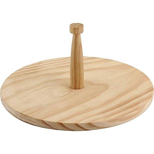 Plateau à fromage rond en bois