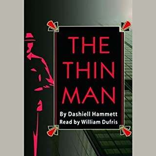 The Thin Man audiobook cover art