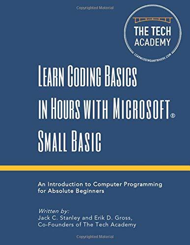 small basic programming - 1