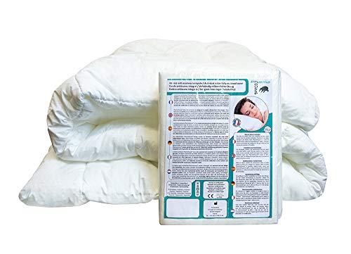 Pharma-Housse - Housse Anti-acariens intégrale pour Couette - Dispositif médical - Garantie 10 Ans - Housse barrière sans Aucun Traitement ni plastification