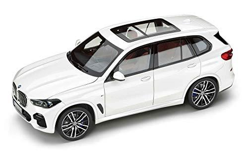 BMW Original Miniatur X5 Modellauto Alpin Weiß 1:18 - Kollektion 2019/2021