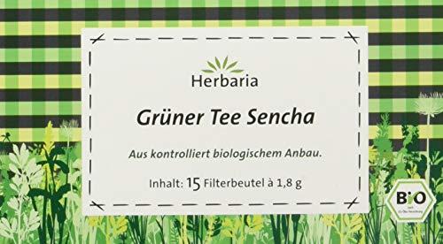 Herbaria grüner Tee Sencha bio (1 x 27 g)