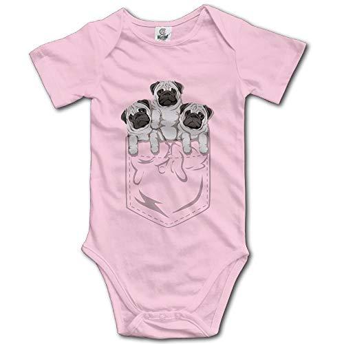 Stylish Home Babyone Mops-Kleidung für Kleinkinder, weiche Baumwolle Gr. 56,...