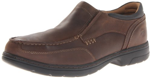 Timberland PRO Men's Branston Moc Toe Slip-On Work Shoe,Brown Distressed,11 M US