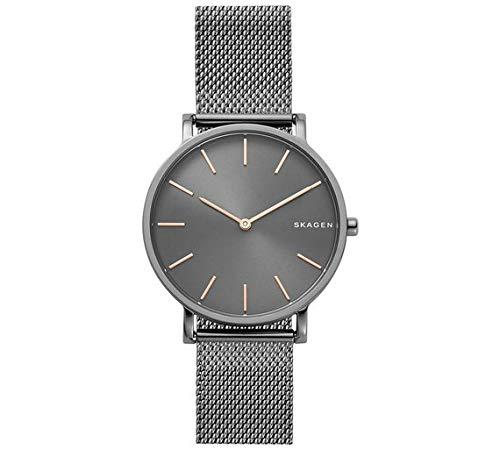 Skagen Herren Analog Quarz Uhr mit Edelstahl Armband SKW6445