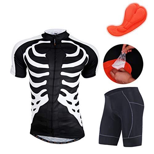 HEIMEN fietsshirt voor mountainbike, korte mouwen, ademend en sneldrogend, voor mannen