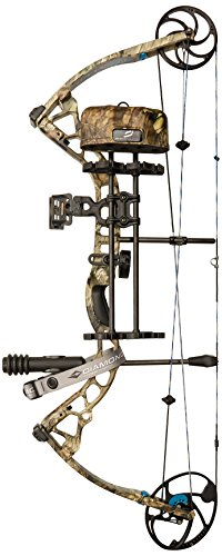 Diamond Archery Provider Compound Hunting Bow Package, Mossy Oak Country, Left Hand