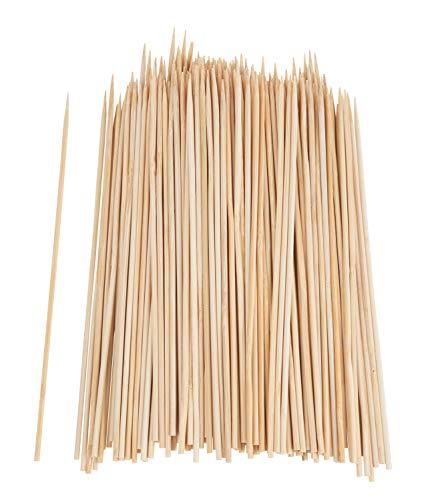 200 Holzspieße Schaschlikspieße 20cm Basteln Holz Mikado Grillspieße Käse Stick Spieß VBS Großhandelspackung