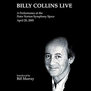 Billy Collins Live cover art