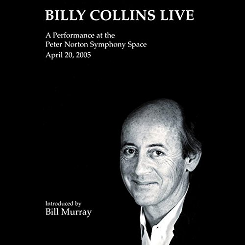 Billy Collins Live audiobook cover art
