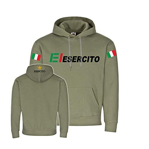 Copytec Esercito Italiano Infanterie Heer Italiano - Felpa con cappuccio #27175 oliva M
