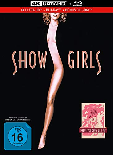 Showgirls - You Don't Nomi - 3-Disc Limited Collector's Edition im Mediabook (4K Ultra HD/UHD) (+ Blu-Ray + Bonus-Blu-ray)