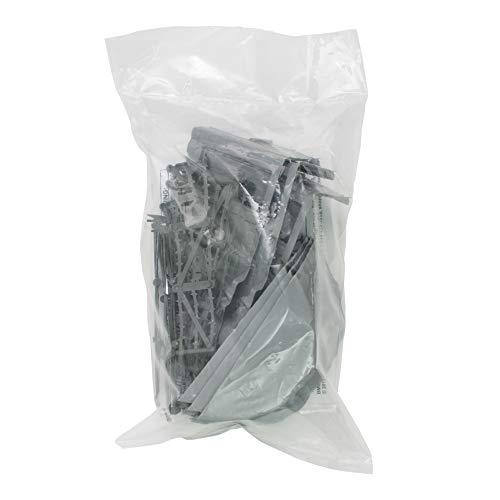 BMC Classic Marx Axis Ambush - 14pc Gray Plastic Army Men Playset Accessories