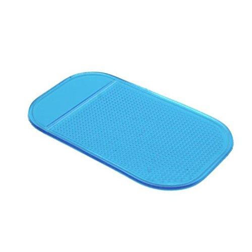 Demarkt antidérapant Voiture Tableau de Bord Tapis pour Tenir Téléphone Bleu