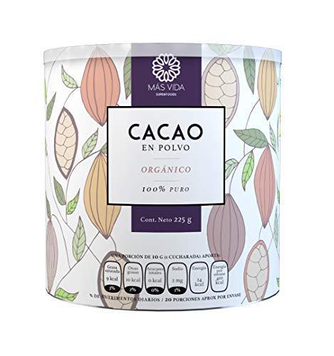 Cacao En Polvo Precio marca Más Vida Superfoods