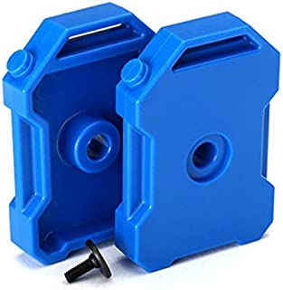 Traxxas 8022R Fuel Canisters (Blue) (2)/ 3x8 FCS (1) TRX-4