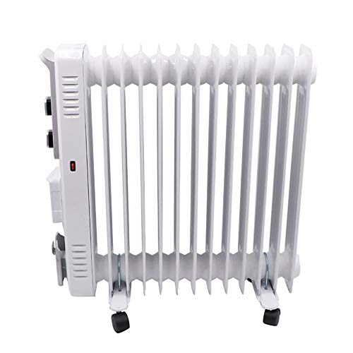 LBXZ Radiador Eléctrico Radiadores Rellenos de Aceite Calentadores de 11/13 Capas Portátil de Interior Portátil Portátil, para Uso en la Sala Radiador Espacial Lleno de Aceite (Color : 11-Layer)