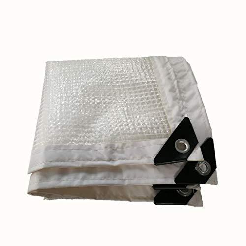 Qjivangtype camouflagennet, transparante luier, dikke waterdichte plastic folie, geschikt voor tuinkas (multisize optioneel) camouflage net zonwerend net