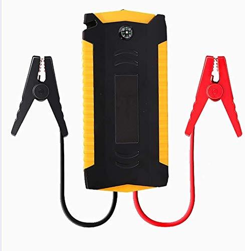 Metdek Batería externa portátil de 12.000 mAh para coche – Dispositivo de carga de hasta 4,0 L con cuatro puertos USB, generador de corriente de emergencia y potenciador de batería de linterna LED.