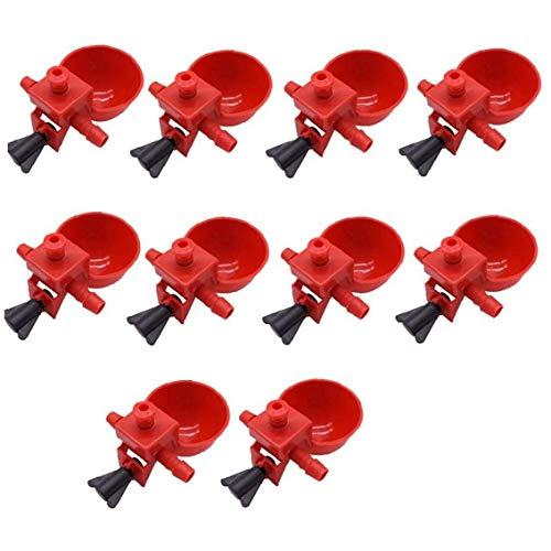 Totalmente Automática De Pollo Potable Máquinas - Plástico Aves Waterer Beber Copas Aves Copa Waterer De Pollo Patos Codorniz