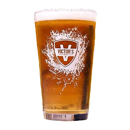 VERRES A BIERE - VICTOR'S DRINKS VERRE 50CL