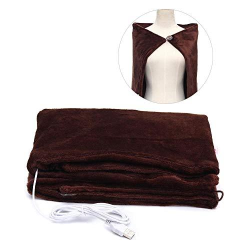 SOWLFE Infrarot USB elektrisch beheizt Decke Kissen Pad , Tragbare beheizten Schal Winter elektrische Erwärmung Hals Schulter, Ultra Weichen gemütlichen Komfort