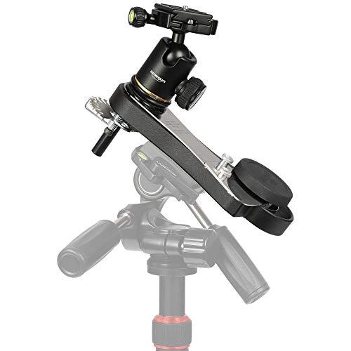 Omegon astroinseguitore fotografico Mini Track LX2 N/S con testa a treppiede OM8 - montatura da viaggio meccanico per astrofotografia con reflex e telescopi leggeri