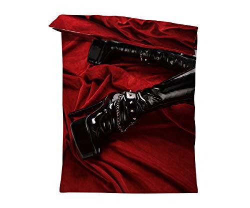 fotobar!style Bettbezug 135 x 200 cm Stiefel